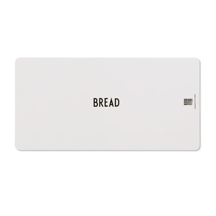 Chopping board B (bread) by Design Letters in gray
