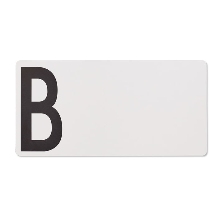 Chopping board B (bread) by Design Letters in gray