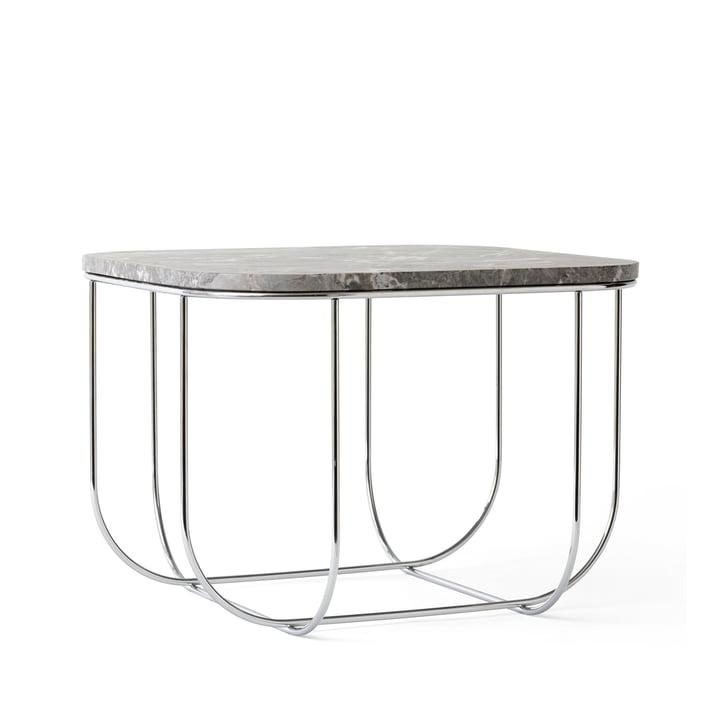 Menu - Cage Table, Marmor / Chrom