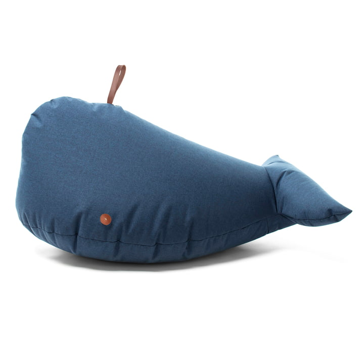 Sturdy soft toy out of water repellent fabric
