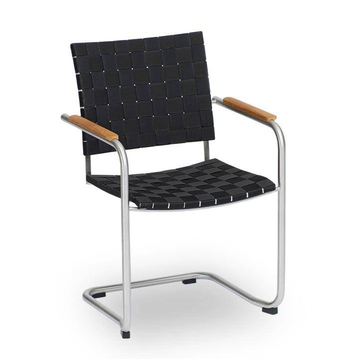 Prato Belt Chair by Weishäupl in black