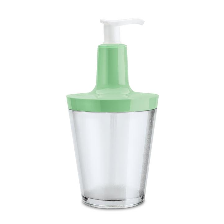 Koziol - Flow soap dispenser, transparent mint