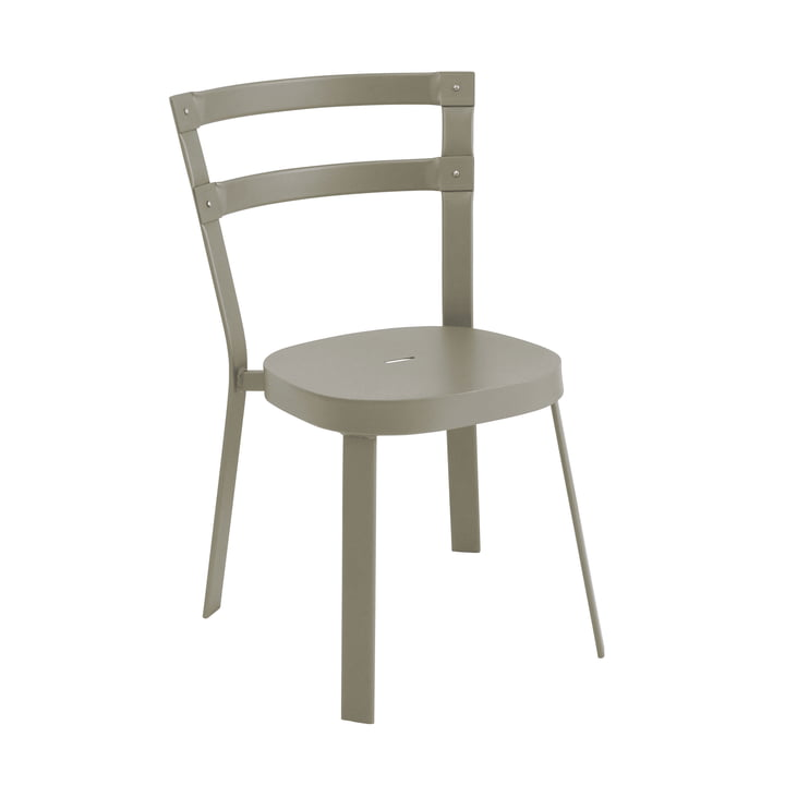 Thor chair by Emu in gray-green
