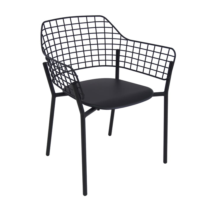 Lyze Armchair by Emu in black