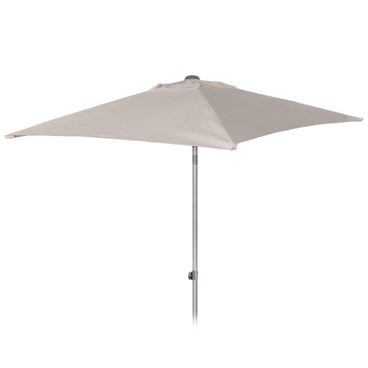 Elba parasol 200 x 200 cm by Jan Kurtz in natural: