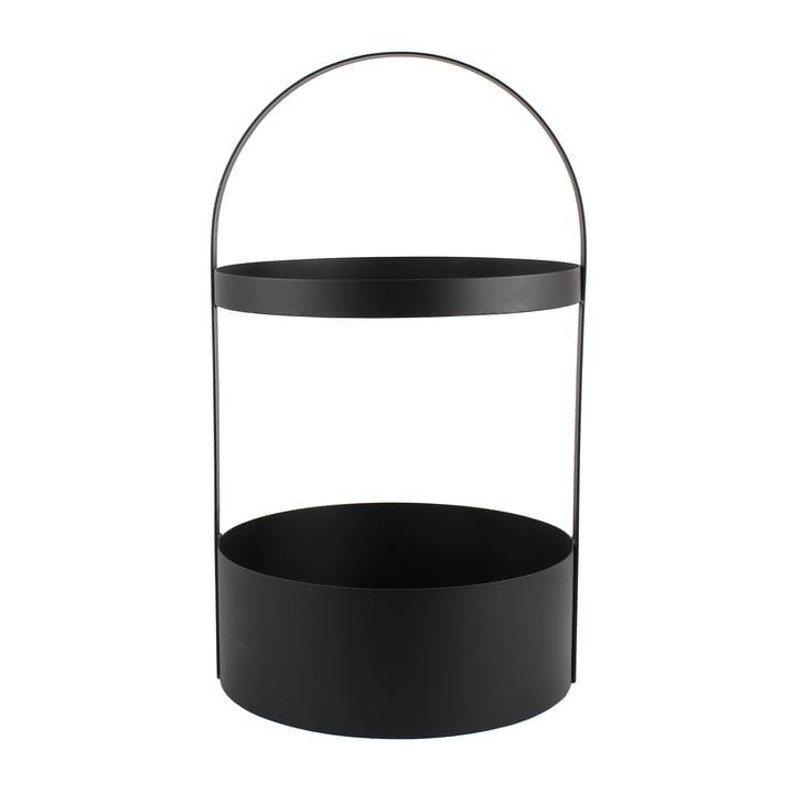 Polytable Side Table by Jan Kurtz in black