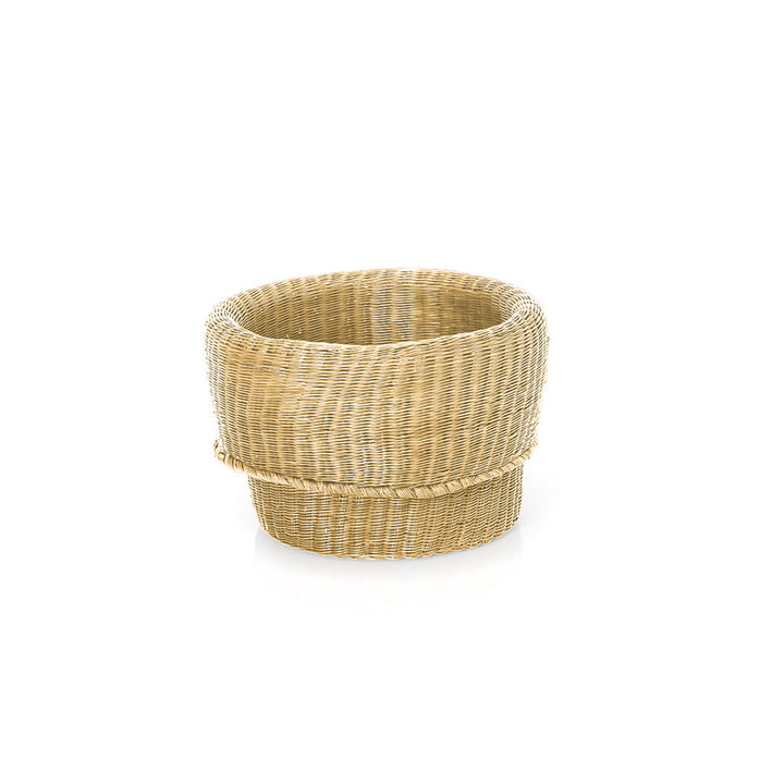 Fibra basket small by ames in natural