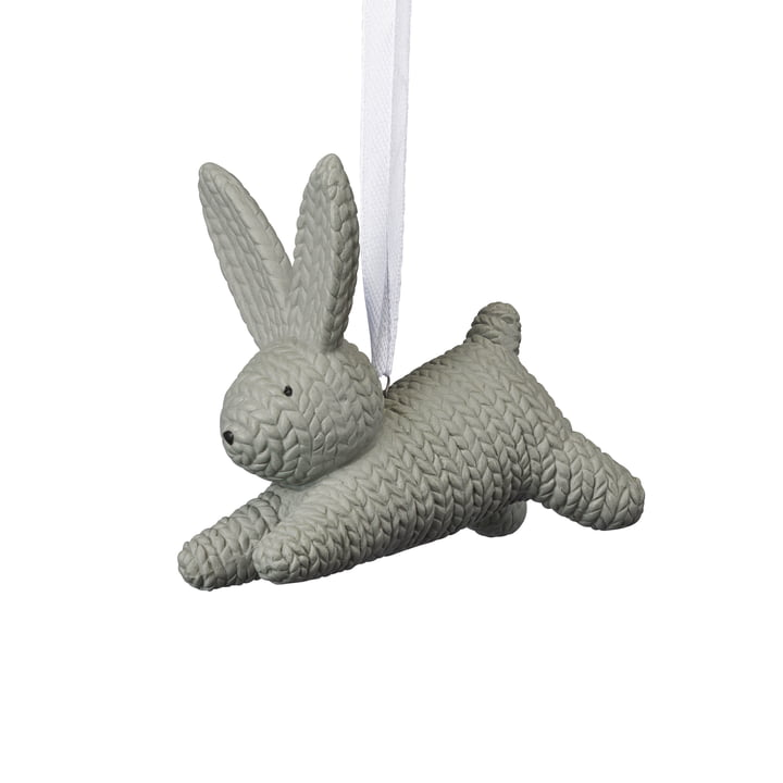 Small pendant rabbit by Rosenthal in stone