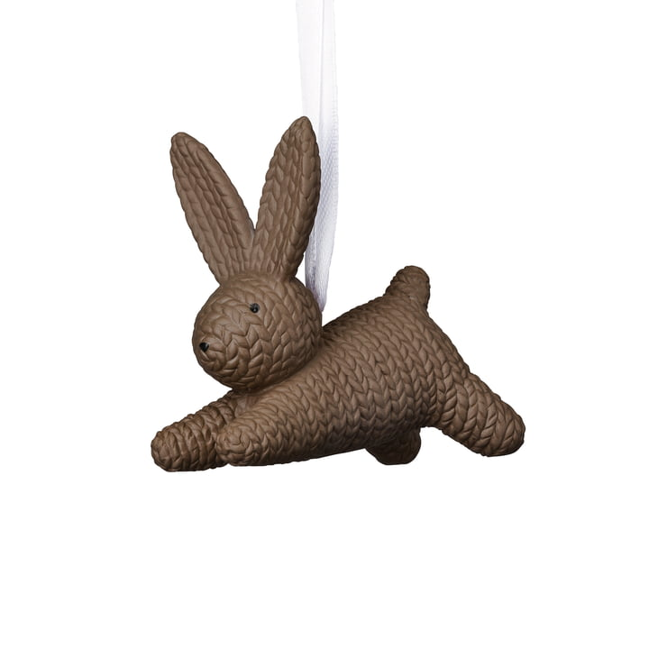 Small rabbit to be hung by Rosenthal in macaroon