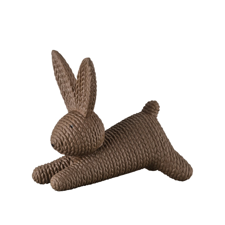 Lying rabbit by Rosenthal in macaroon