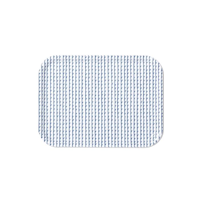 Rivi Tray in Small by Artek in White / Blue