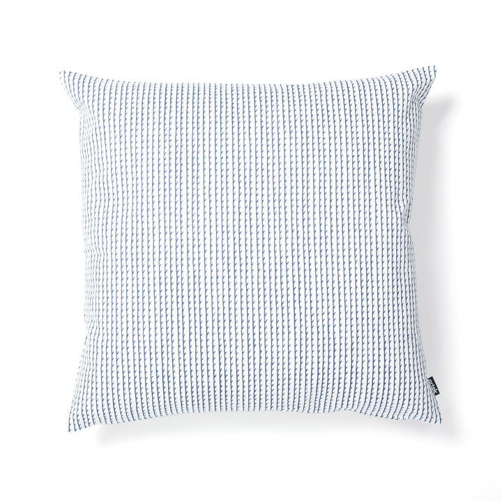 Rivi Cushion Cover 50 x 50 cm by Artek in white / blue