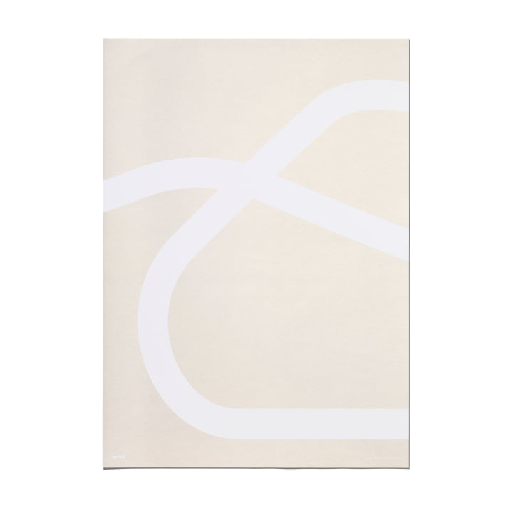 Outline Poster 50 x 70 cm, Lounge Chair 43 by Artek