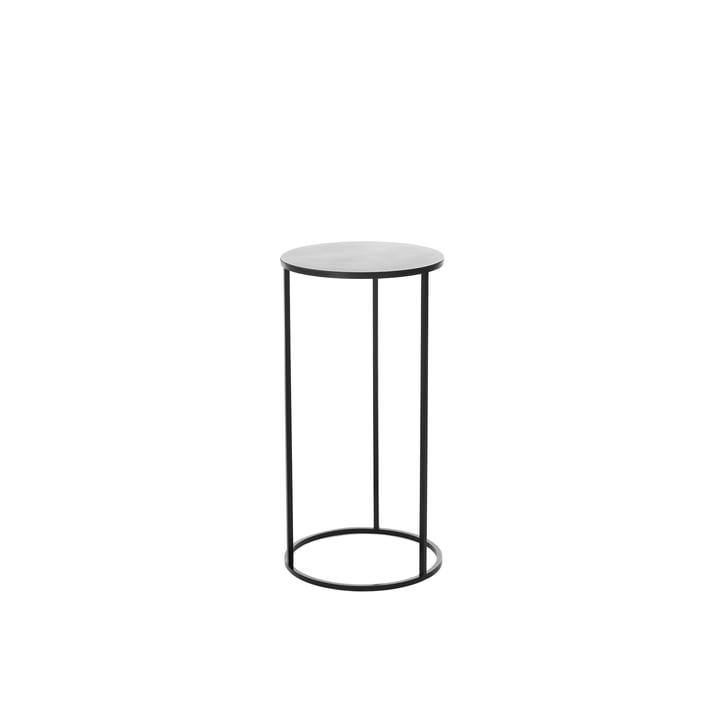 The Rack umbrella stand & side table by Schönbuch in black