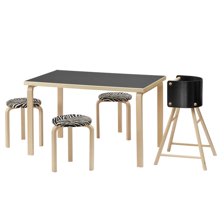 Rectangular 81A Table by Artek