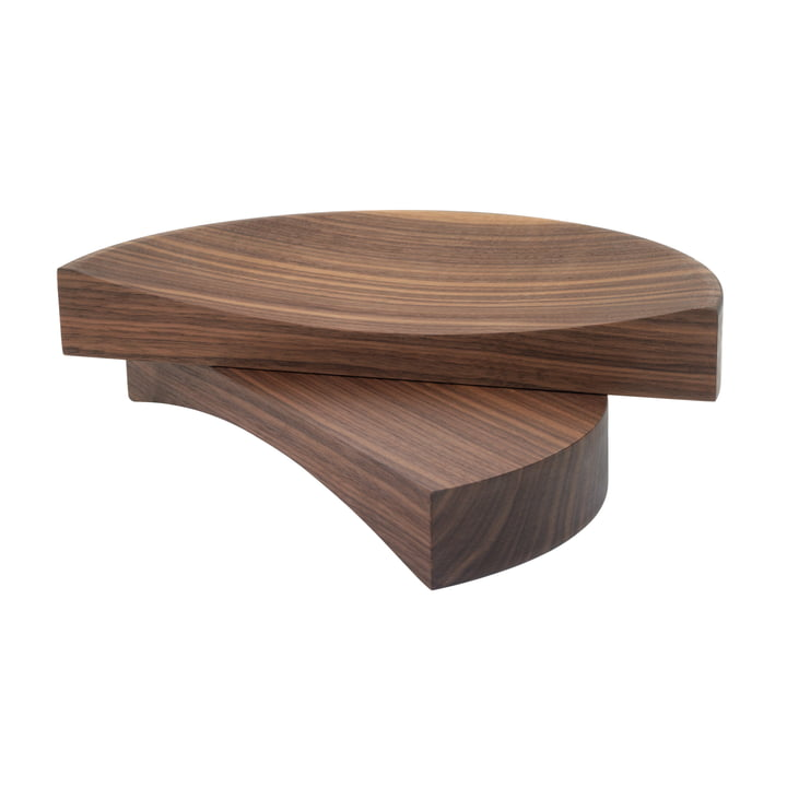 The Split Bowl by Schönbuch in natural oiled walnut