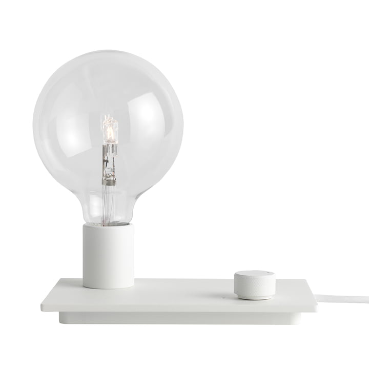 The Control table lamp in white by Muuto.