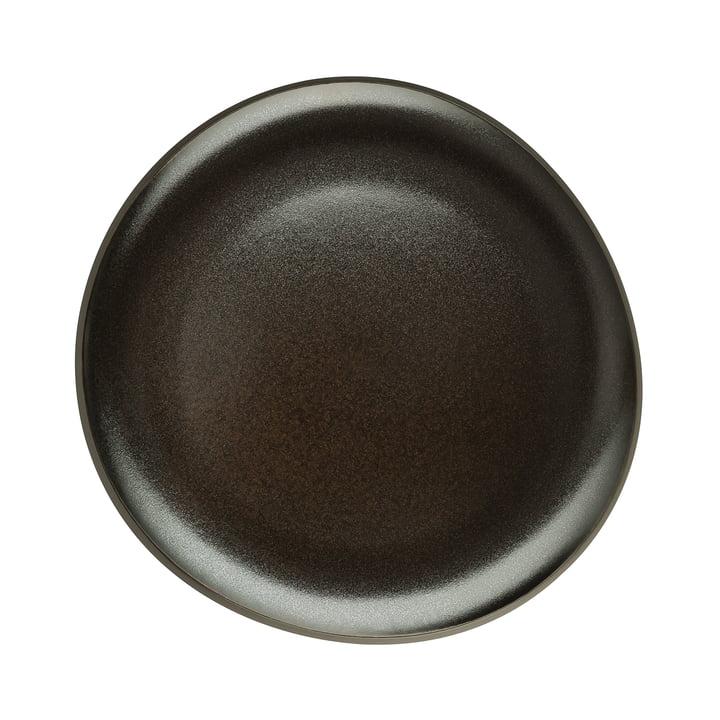 Junto plate Ø 22 cm flat by Rosenthal in slate gray