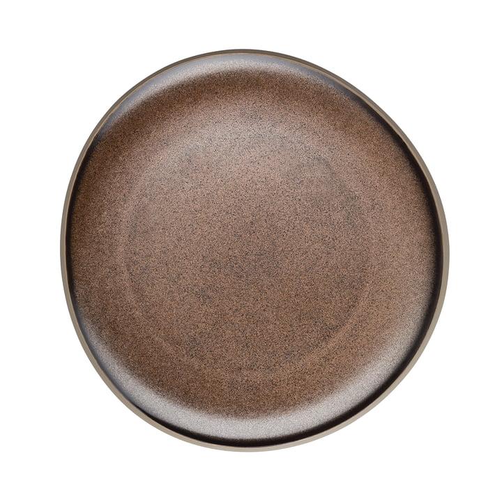 Junto Plate Ø 22 cm by Rosenthal in Bronze