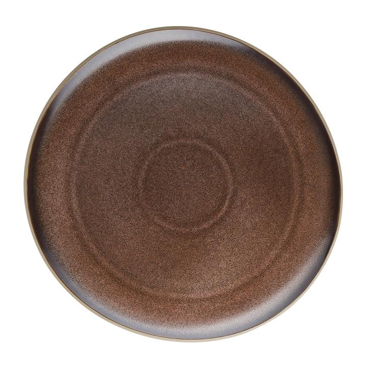 Junto plate Ø 27 cm by Rosenthal in bronze