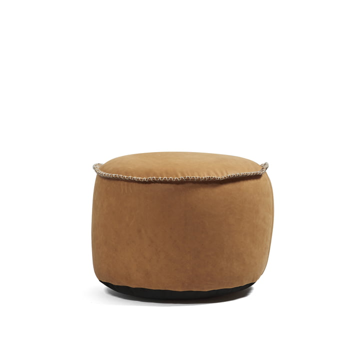 Buy the Dunes Drum Indoor by Sack it in cognac leather.