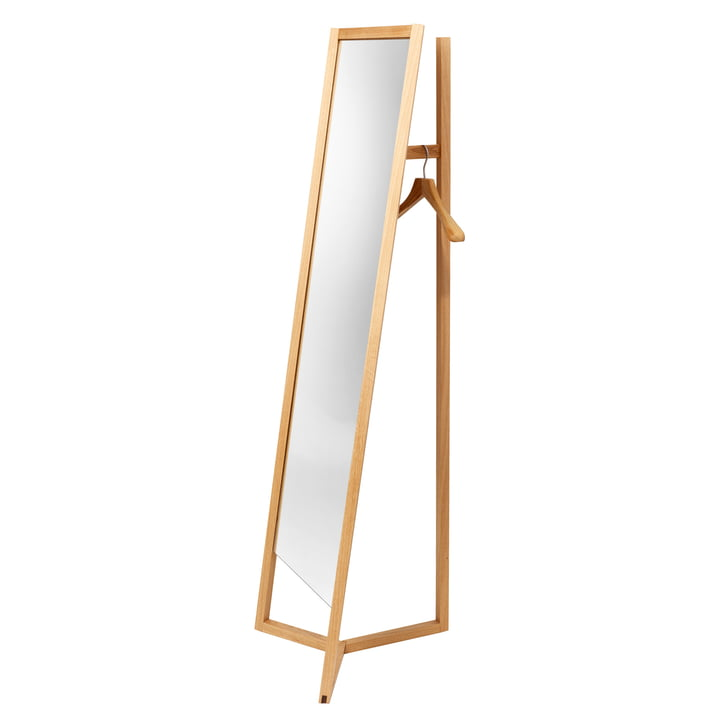 Club Mirror Coatrack by Schönbuch in Natural Oiled Oak