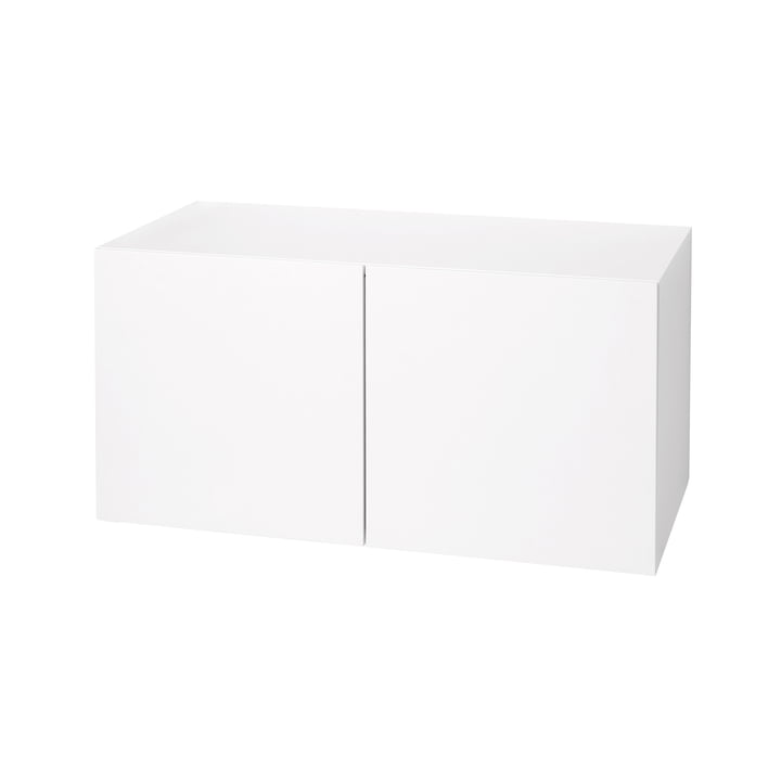 Urban Shoe Cabinet 1070 cm by Schönbuch in snow white (RAL 9016)