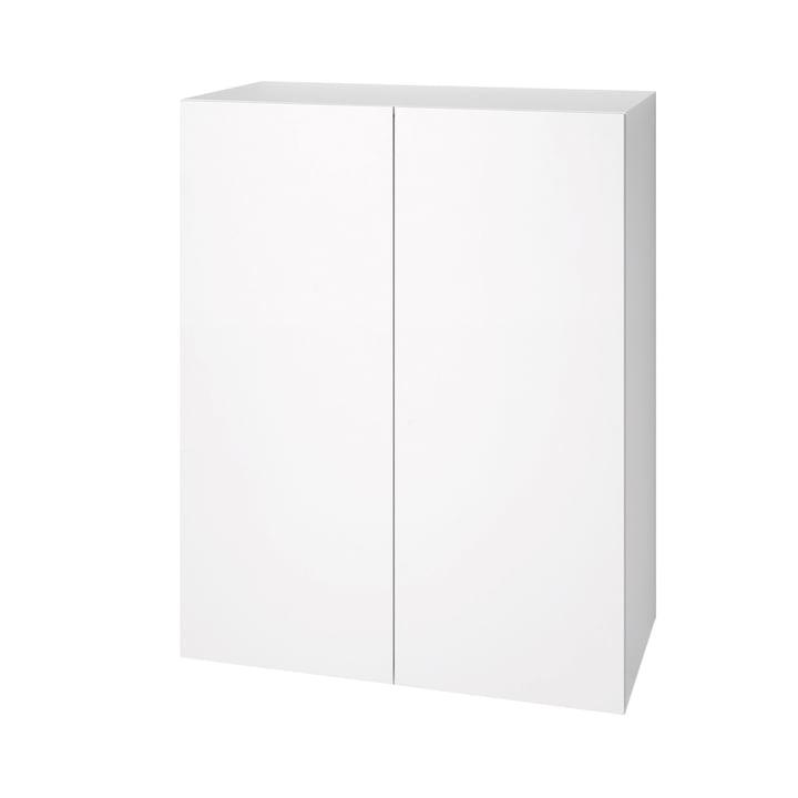 Urban cabinet 1071 (80 cm, 2 doors) by Schönbuch in snow white (RAL 9016)