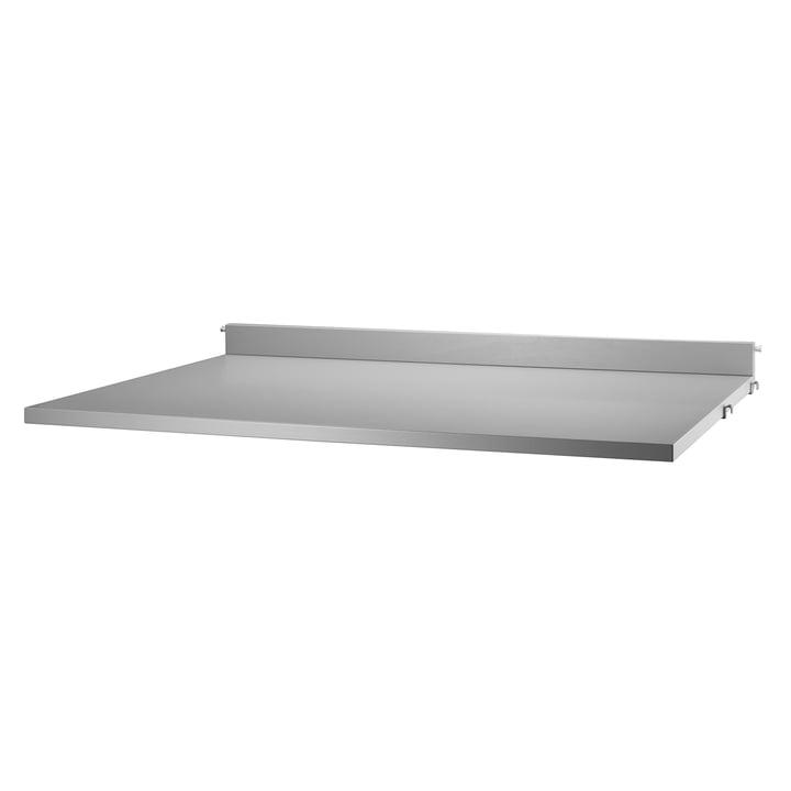 String - Work Desk 78 x 58 cm, grey coated