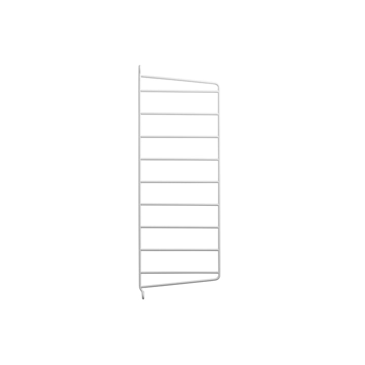 Wall ladder for string shelf 50 x 20 cm from string in white