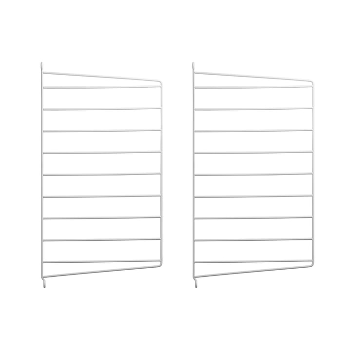 Wall Panel for String System 50 x 30 cm by String in White (Set of 2)