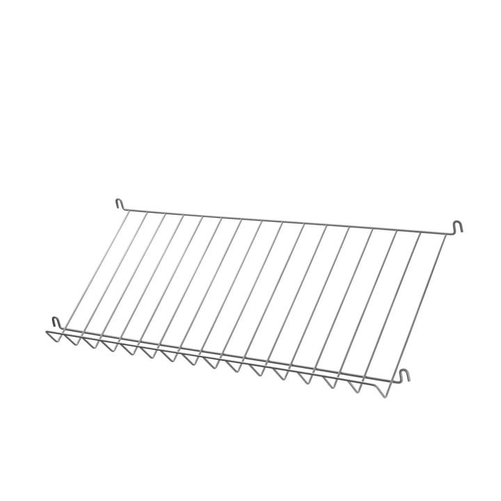 Magazine Rack by String in Grey