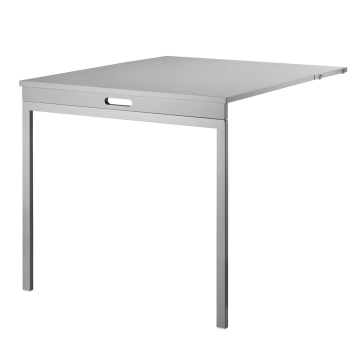 Folding Table by String in Gray