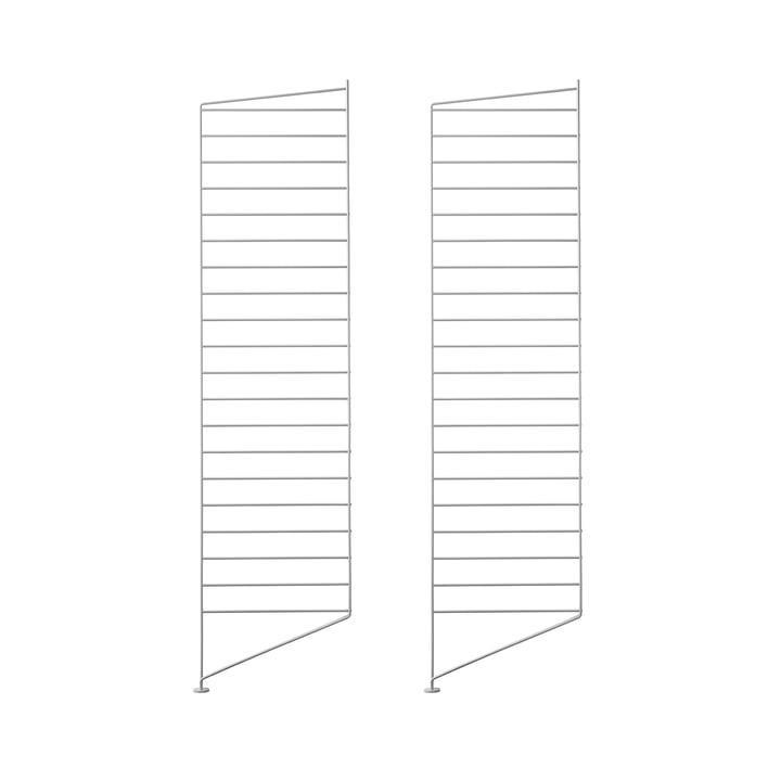 Floor Panel 115 x 30 cm (Pack of 2) by String in Grey