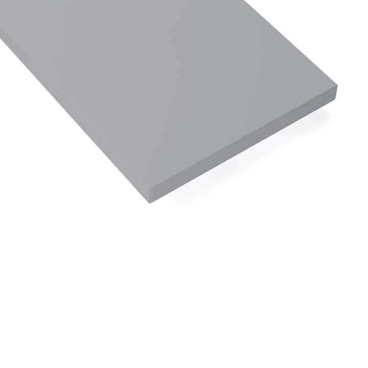 String - Shelf 58 x 30cm (Pack of 3), grey