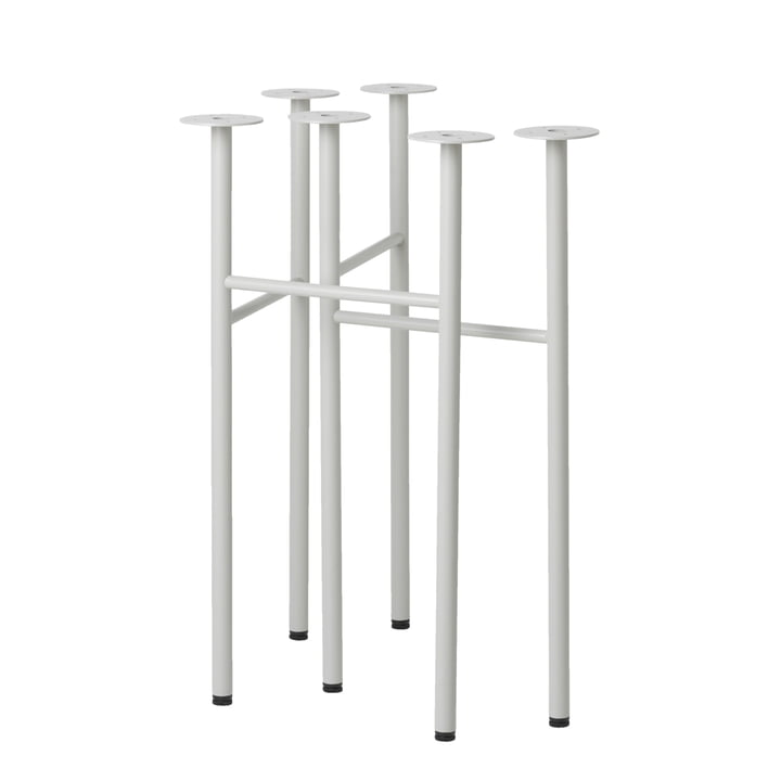ferm Living - Mingle Tresle W48, light grey (set of 2)