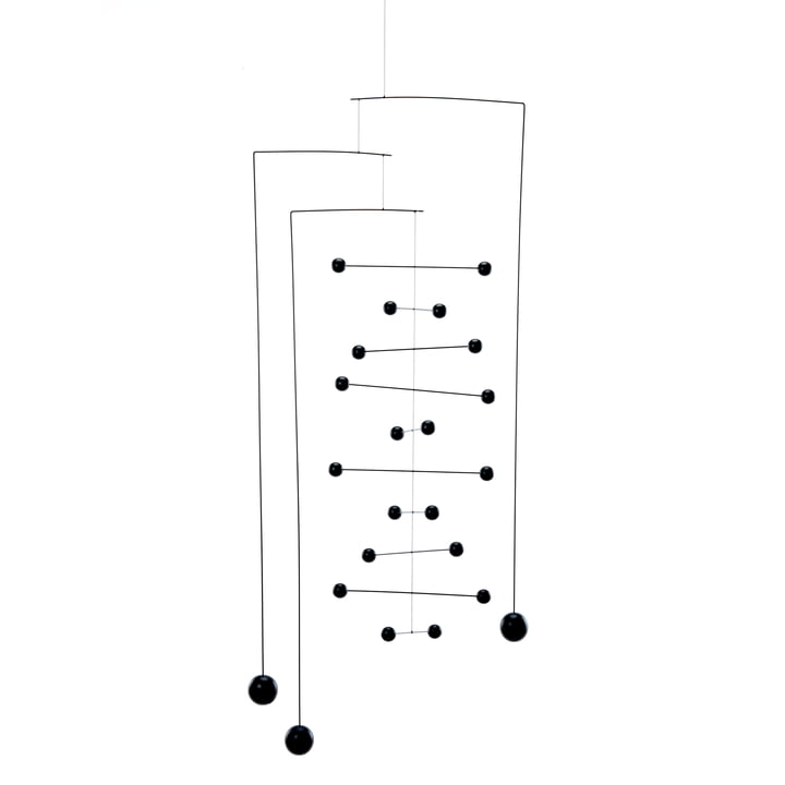 Counterpoint Double by Flensted Mobiles in Black