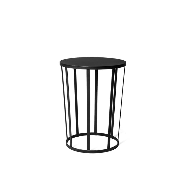 Hollo sidetable by Petite Friture in black