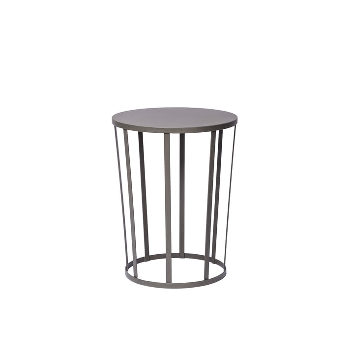 Hollo sidetable by Petite Friture in anthracite gray