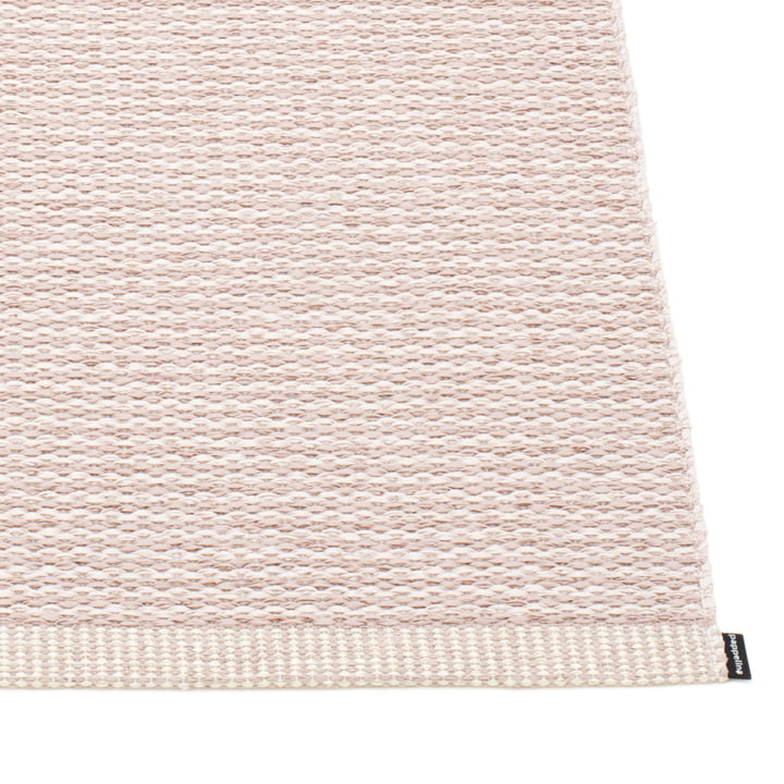 Mono Rug by Pappelina in Pale / Ballet Pink