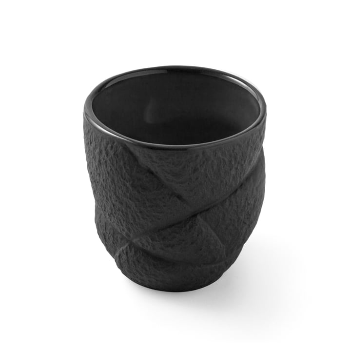 Succession espresso cup 8 cl by Petite Friture in black