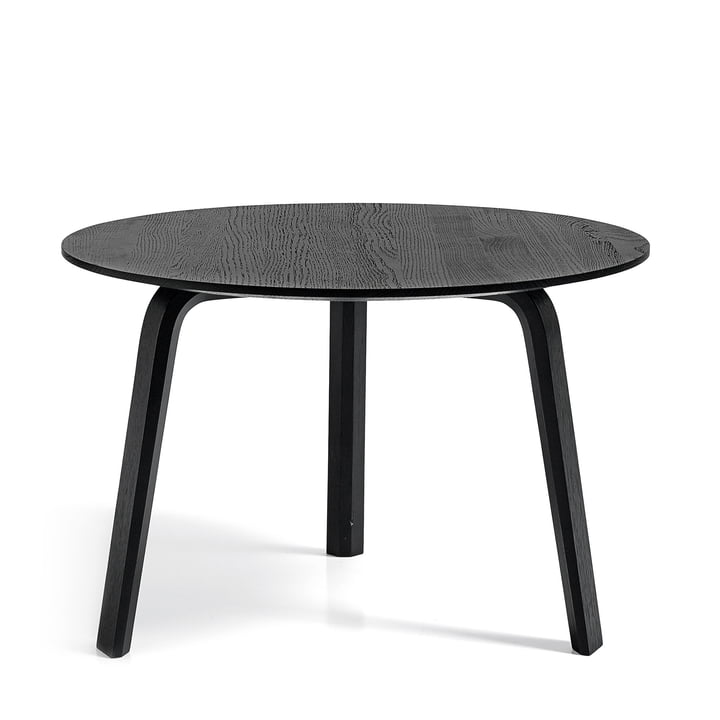 Hay - Bella table, black Ø 60 x H: 39