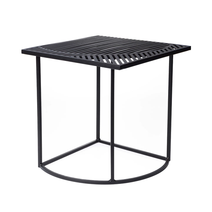 Iso-B Side Table square by Petite Friture in black
