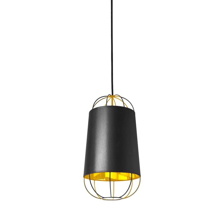 Lanterna pendant lamp, small by Petite Friture in black / gold: