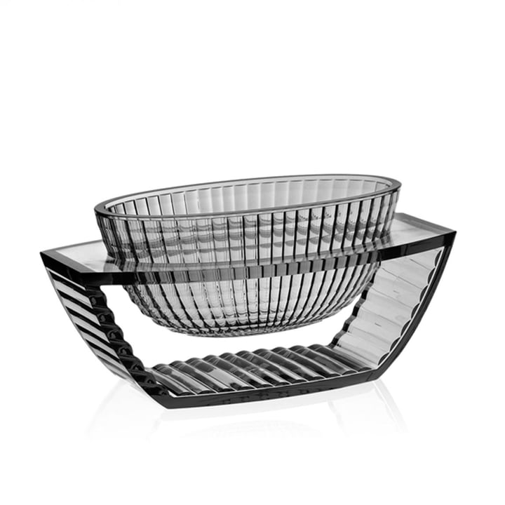 U Shine Bowl by Kartell in smoke