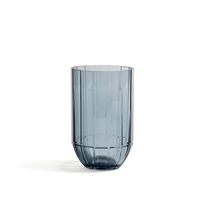 Hay - Colour Vase Glass Vase, M, blue