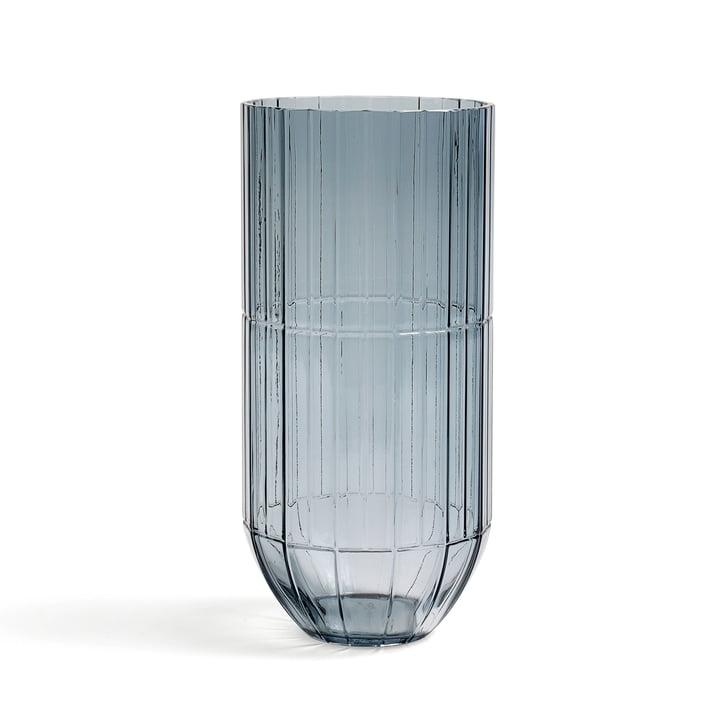 Hay - Colour Vase Glass Vase, M, blue