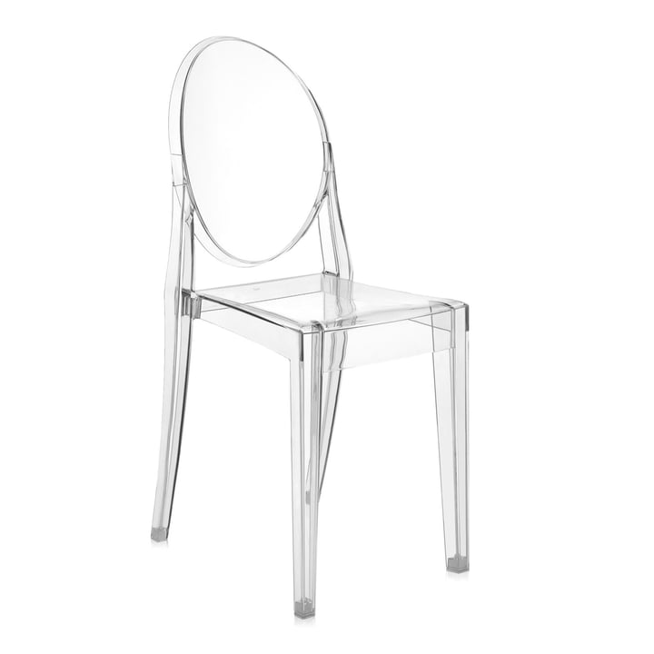 Kartell - Victoria Ghost Chair, crystal / transparent