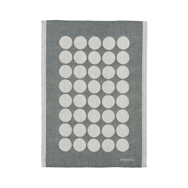 Fia TeaTowel by Pappelina 46 x 66 cm in Charcoal