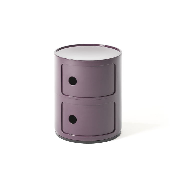 Componibili 4966 by Kartell in purple
